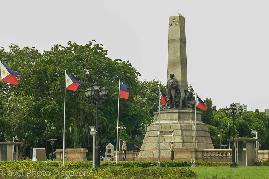 Jose Rizal monument at Luneta park
