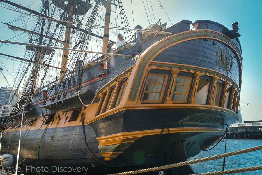 San Diego attractions and the maritime museum