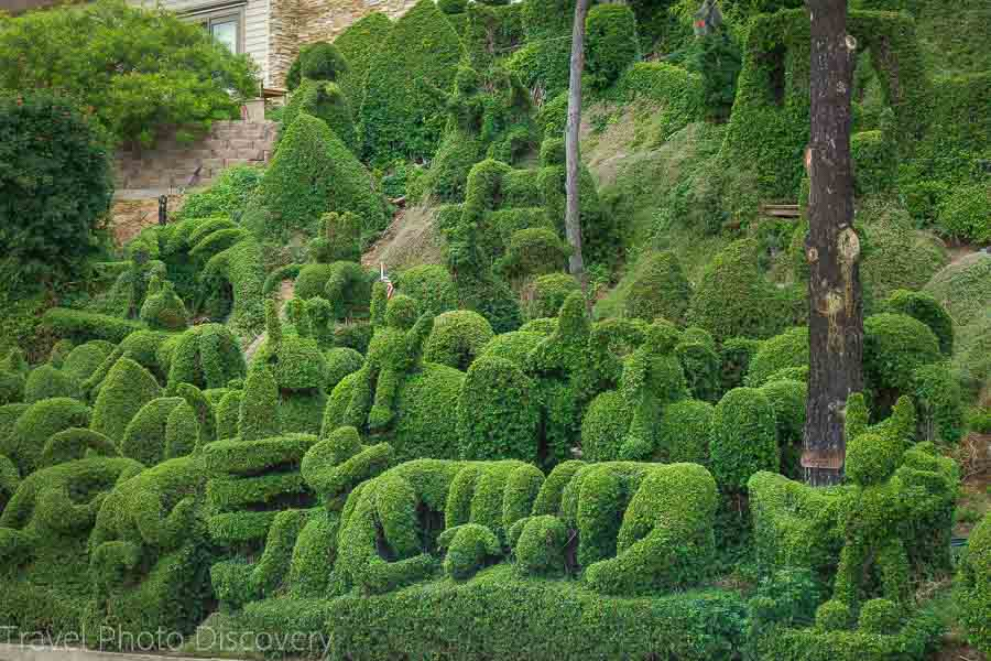 San Diego attractions and quirky topiaries