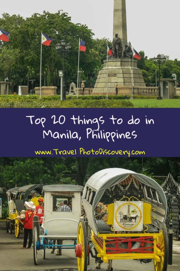 Top 20 things to do in Manila, Philippines