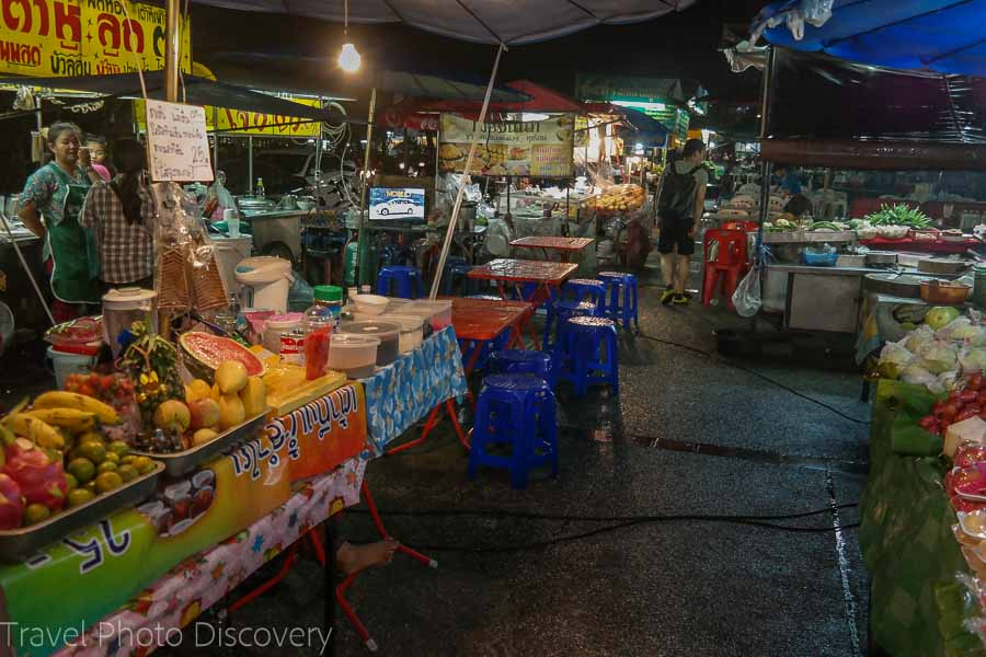 Street food vendors at Chiang Mai, Thailand