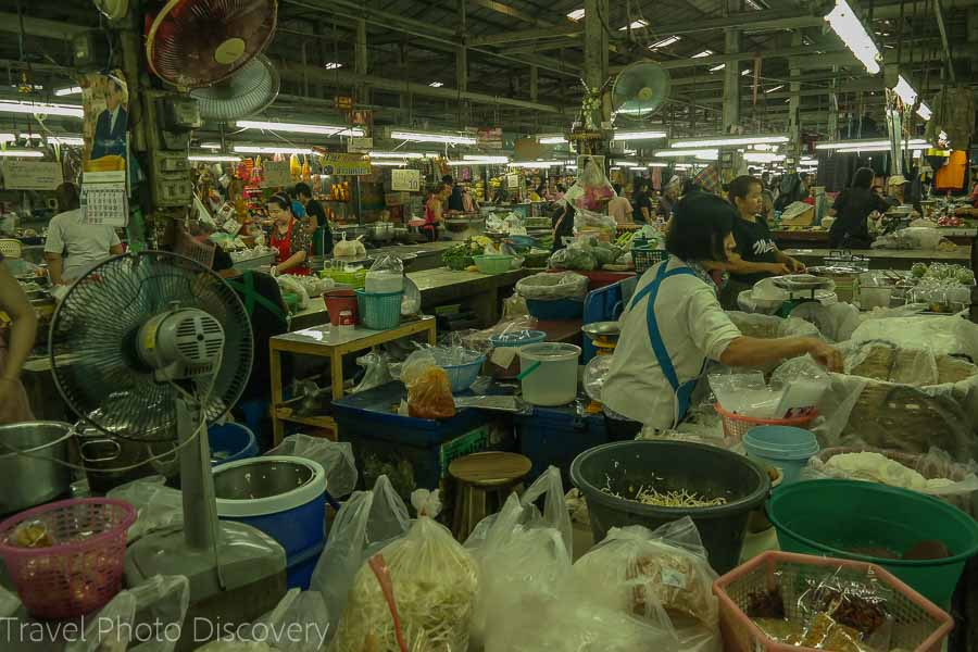 Wororot market in Chiang Mai, Thailand
