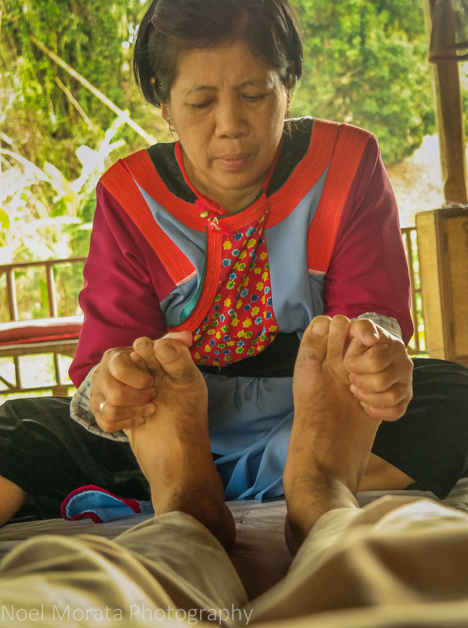 Thai massage in Chiang Mai, Thailand