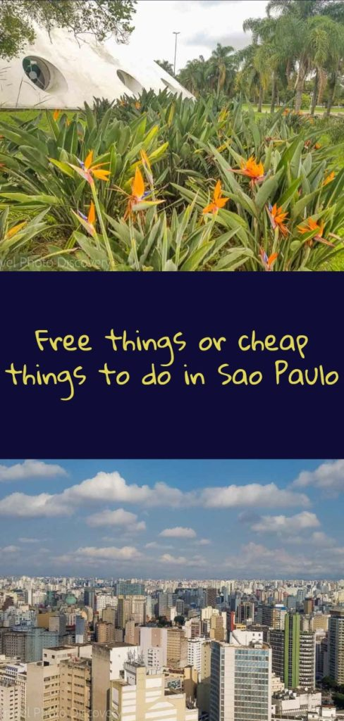 Free or cheap things to do in Sao Paulo