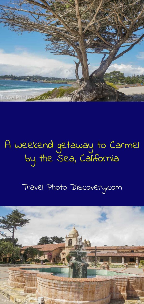 A weekend getaway to Carmel by the Sea