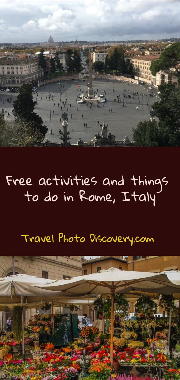 Free activities and things to do in Rome Italy