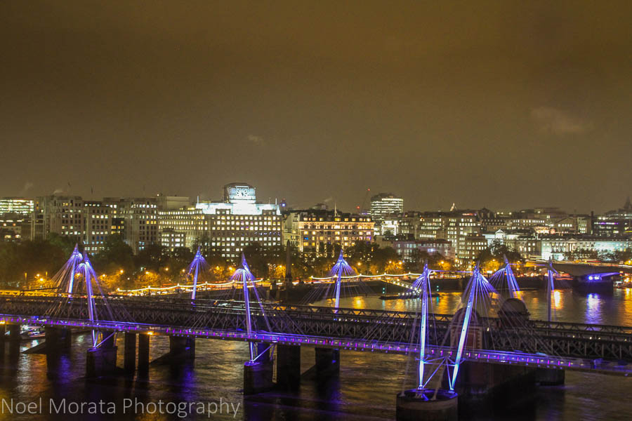 Walking the Southbank at night