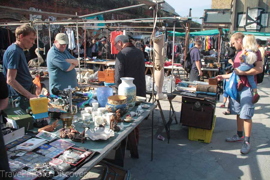 London flea markets and free venues