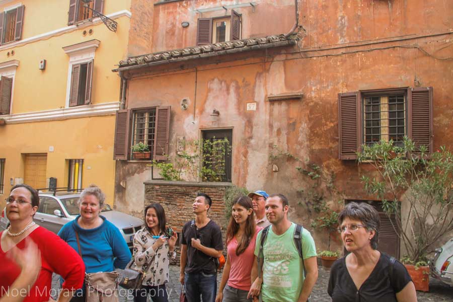 Free walking tours of Rome