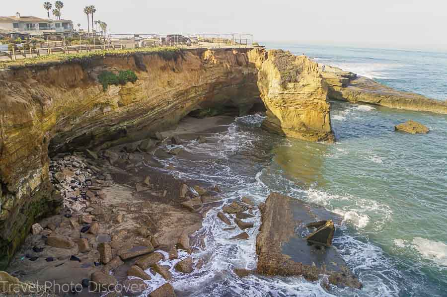 Morning walk along Sunset Cliffs