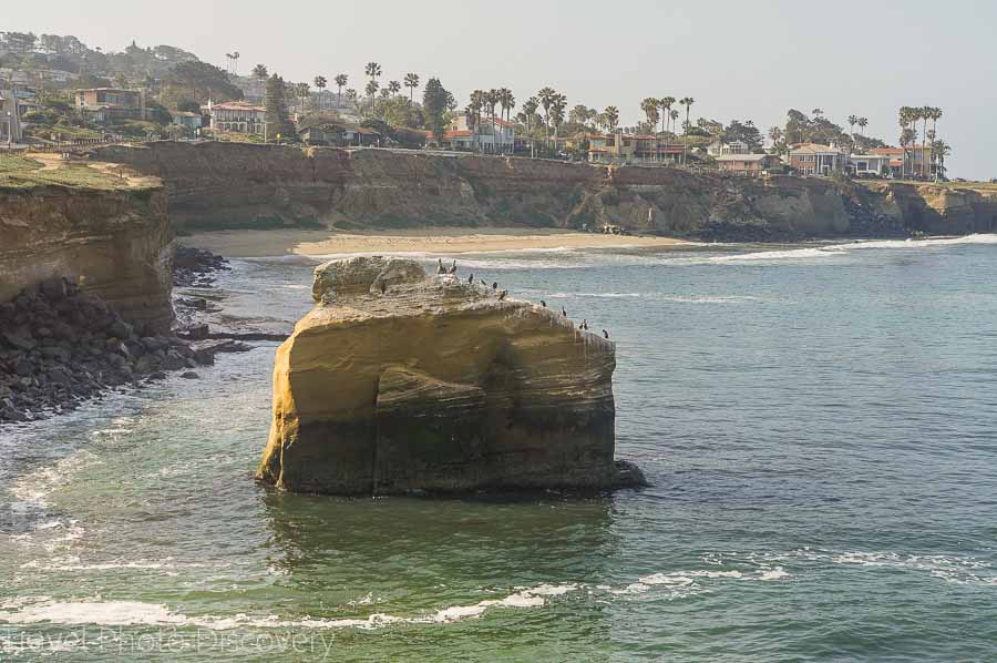 Gorgeous coastal views along Sunset Cliffs