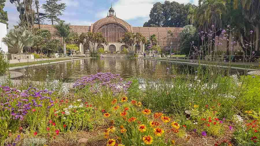 San Diego's conservatory at Balboa Park