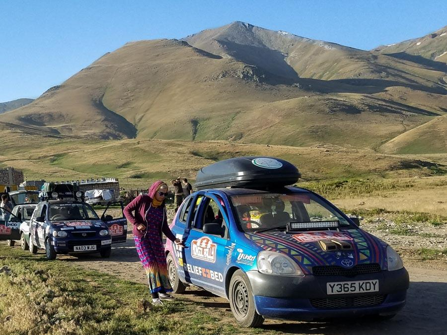 mongol rally to Asia adventure