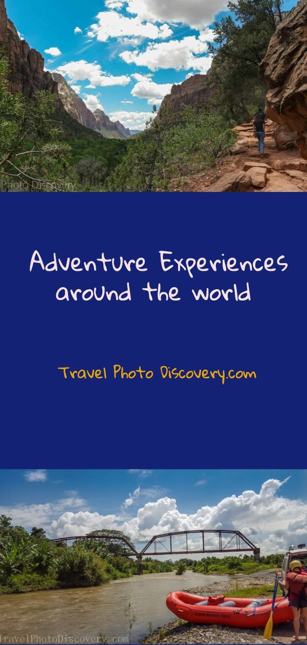 Adventure experiences around the world
