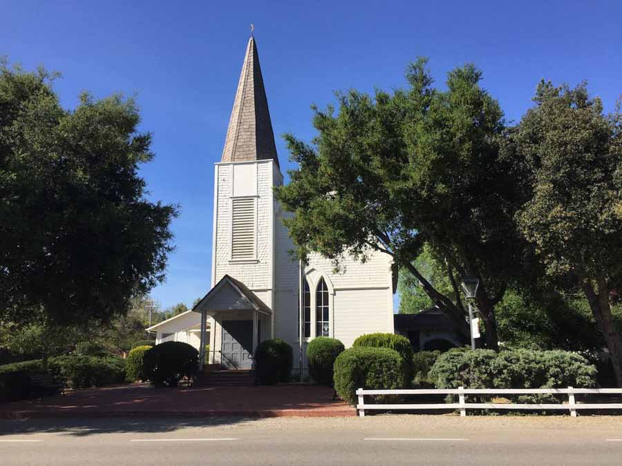 Ballard church in Solvang area