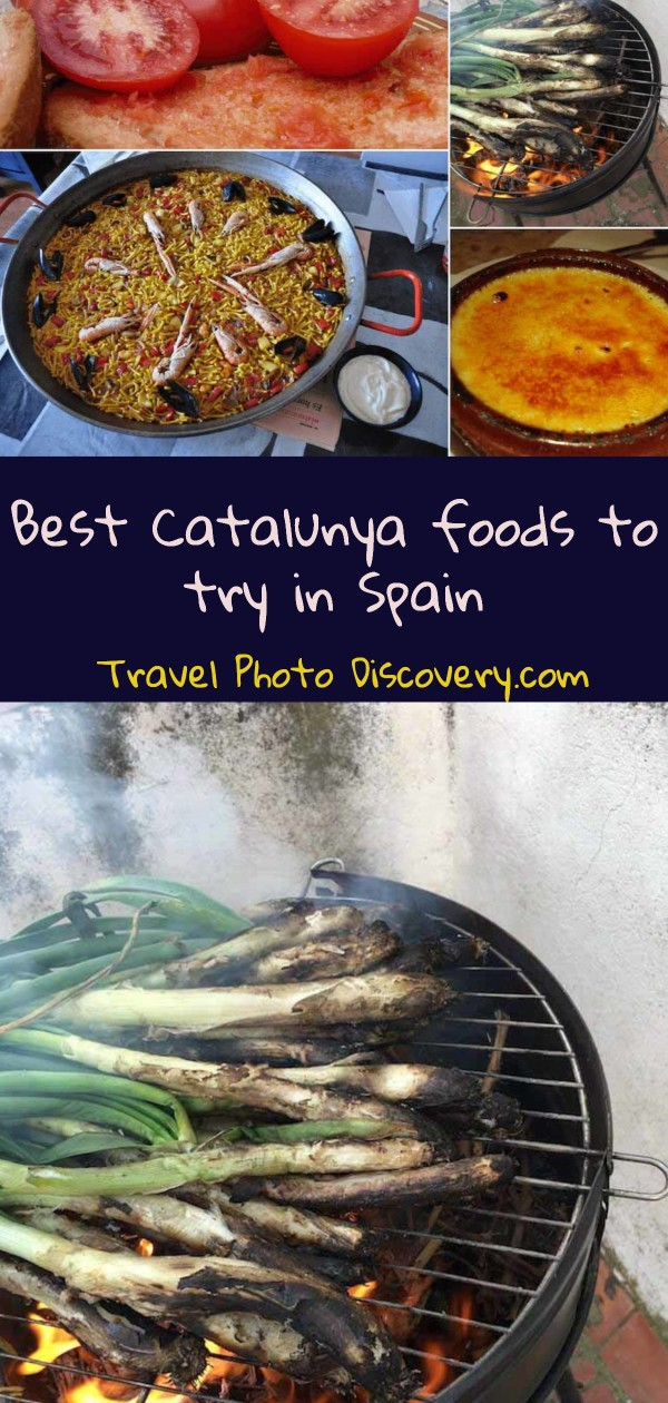 Best Catalunya foods to try and eat in Spain