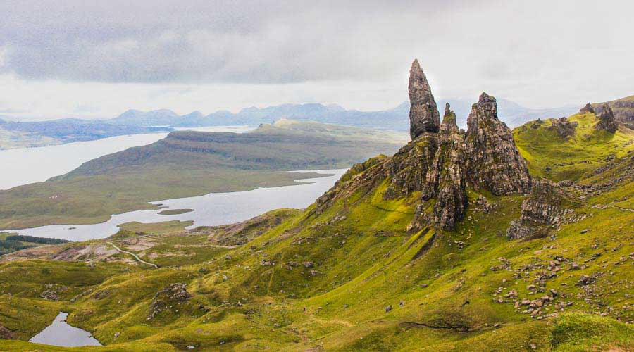 Cycling adventure in the Isle of Skye