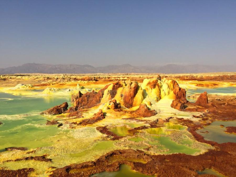Exploring the Dallol Danaki area