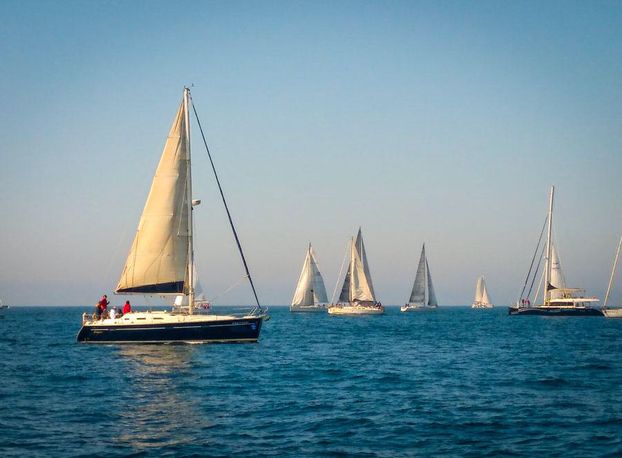 Sailing regatta adventures in Spain