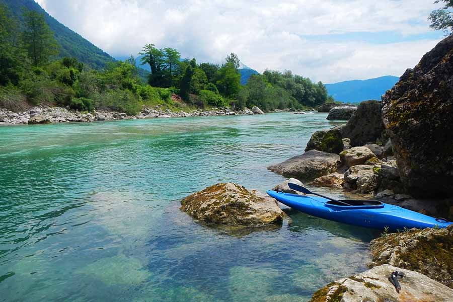 Slovenia kayaking adventure experience
