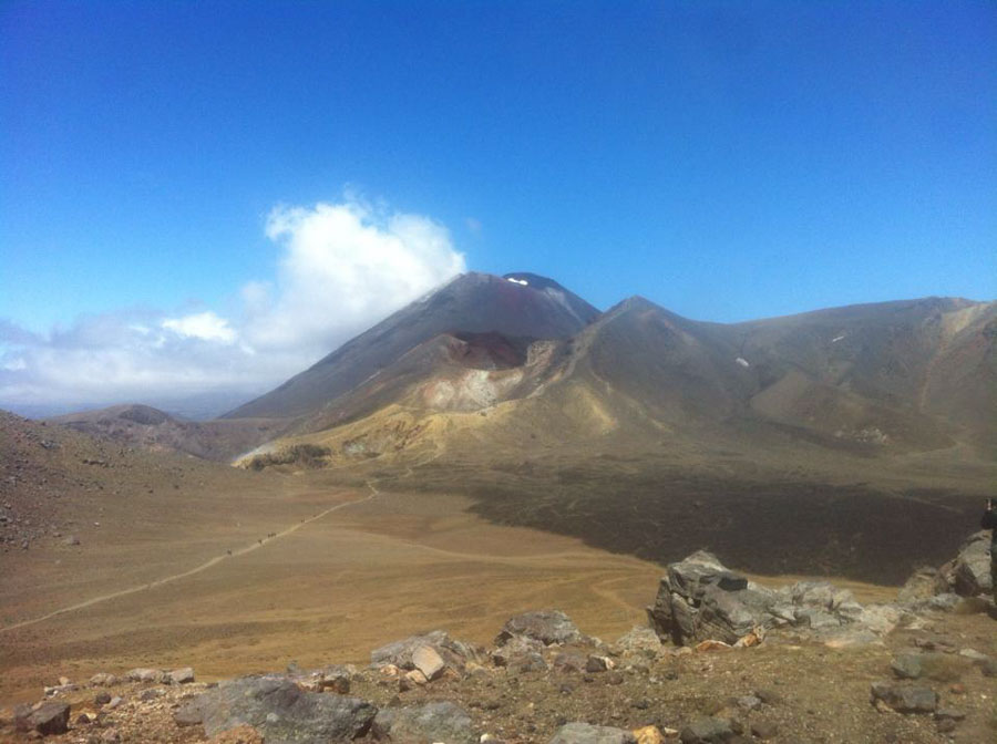 Tongariro Crossing adventure hike experience