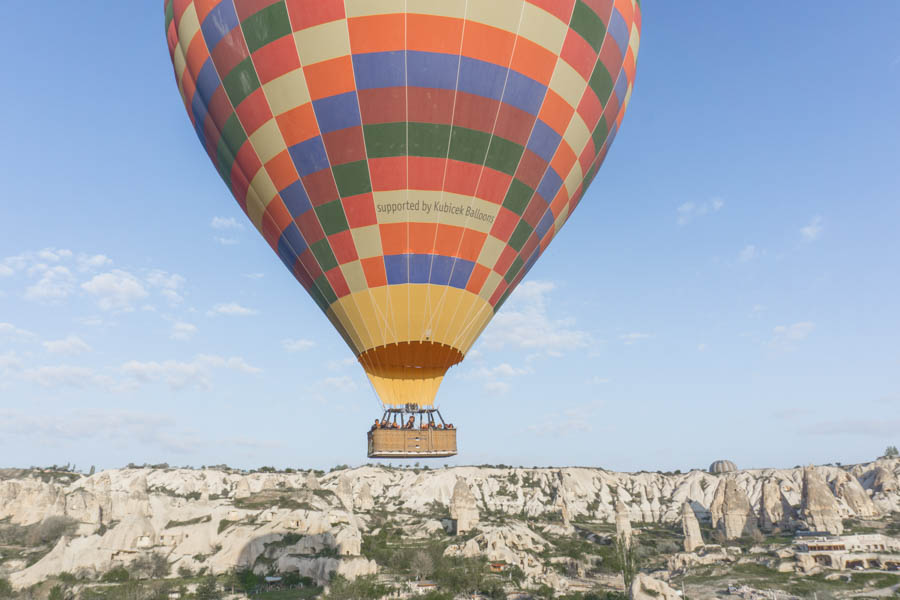 Sunrise adventure experience over Cappadocia