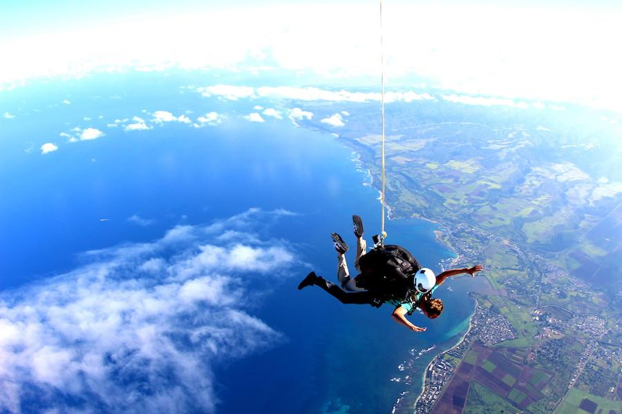 hawaii skydiving adventure