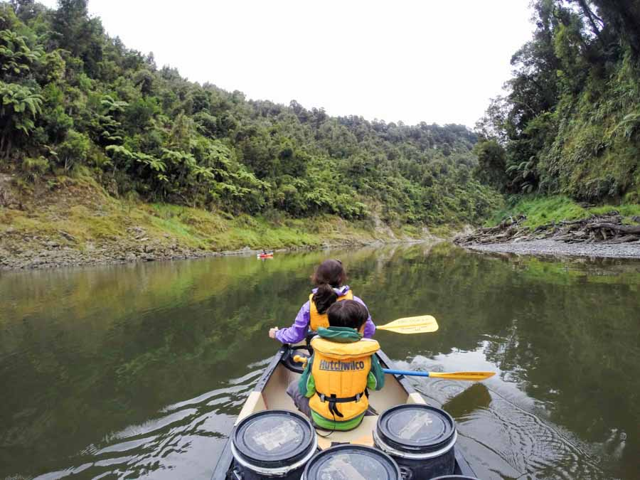 Whanganui river rafting adventure in New Zealand