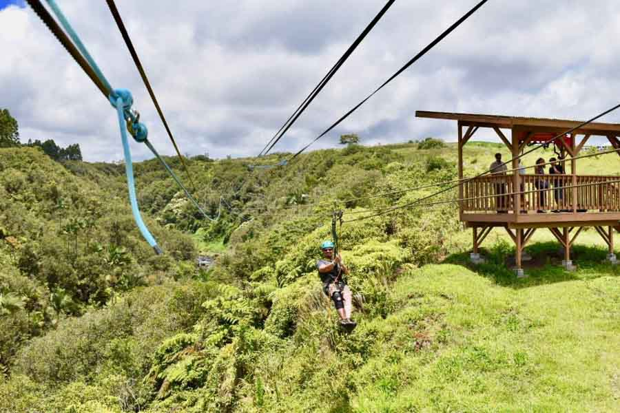 ziplining in Hawaii adventure experiences around the world
