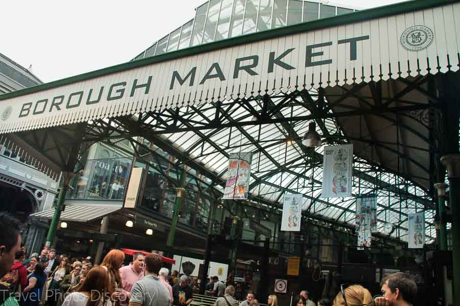 Borough market, London and what to eat