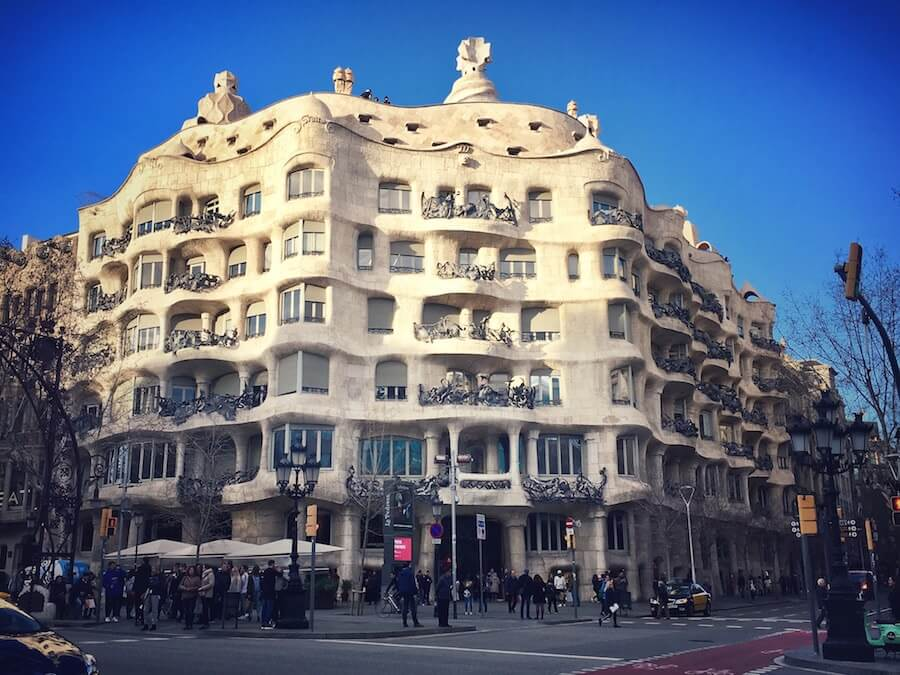 DIY Gaudi Walking Tour Barcelona
