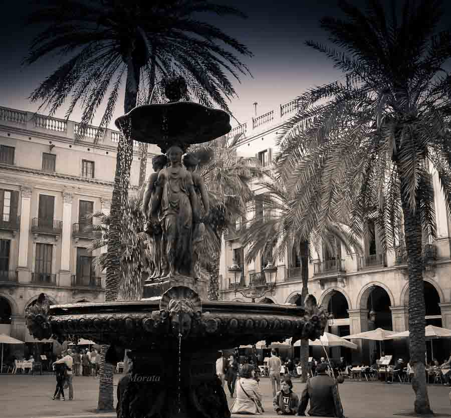 Gothic district placa reial