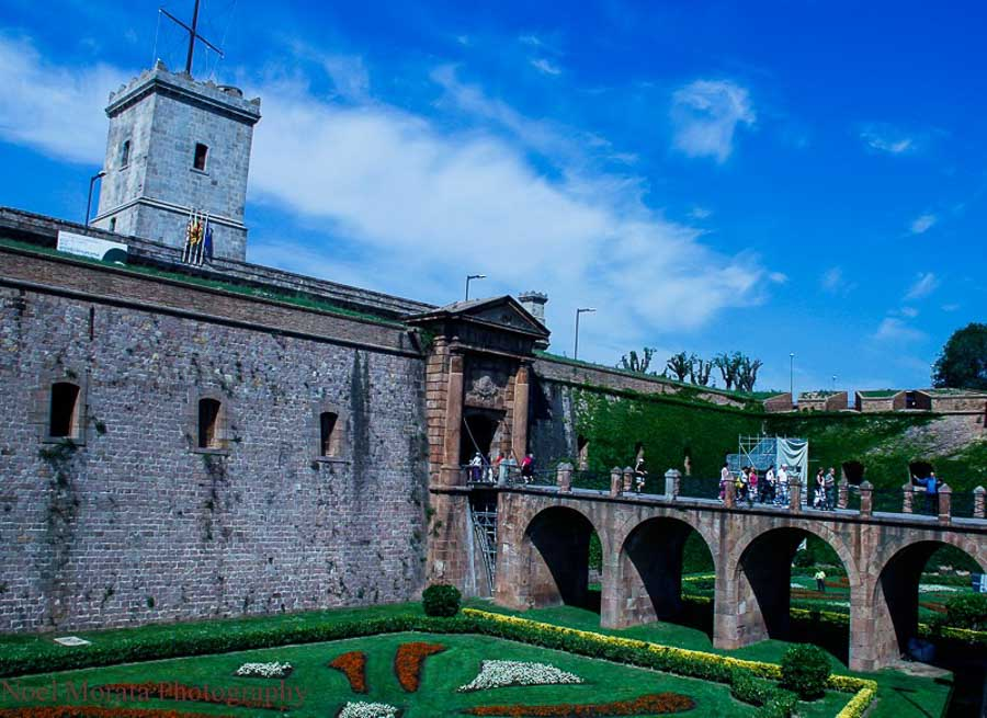 Montjuic castle and fortress