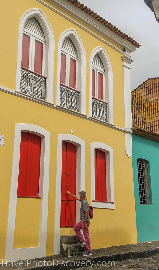 Colorful buildings found in Pelourinho