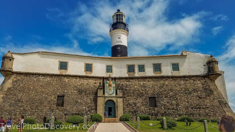 Farol de Barra lighthouse