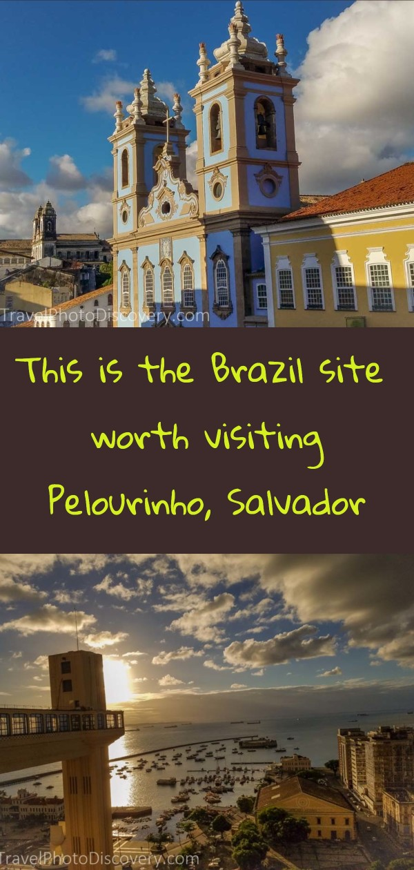 Pinterest image Visit to Pelourino in Salvador de Bahia