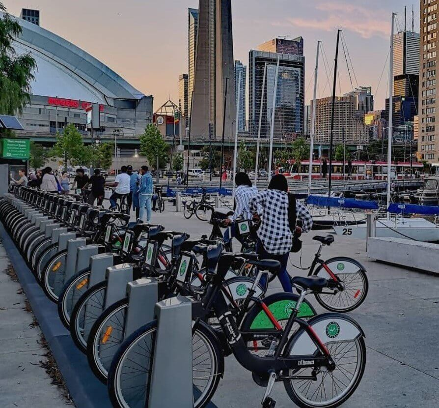 Stay active at Toronto's Harbourfront