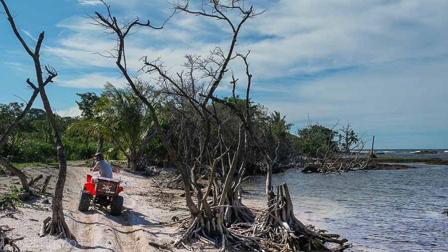 Bocas del Toro ATVing things to do in Panama