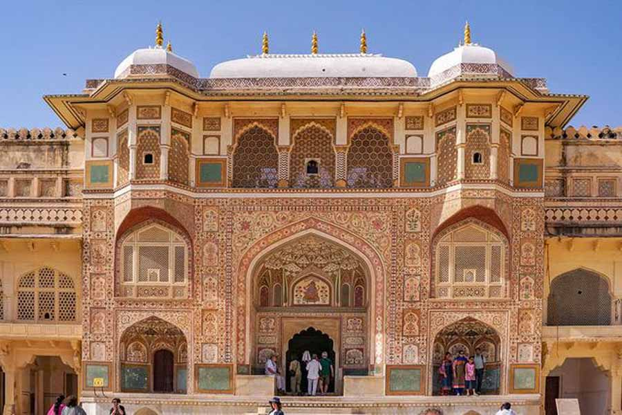 Amber fort in India