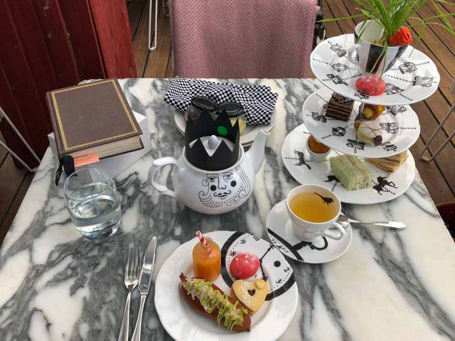 What to eat in London Mad Hatters Tea