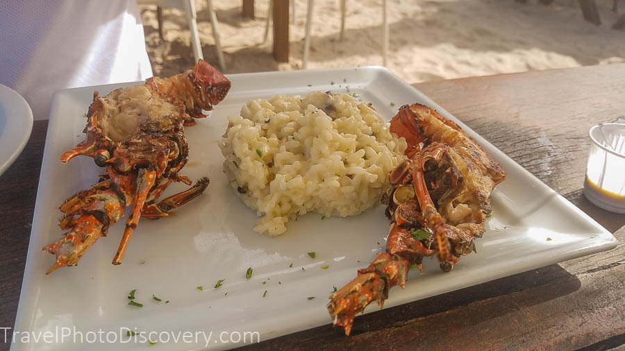 Salvador de Bahia lobster meal