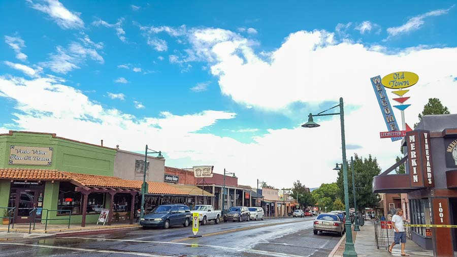 Cottonwood's downtown streets
