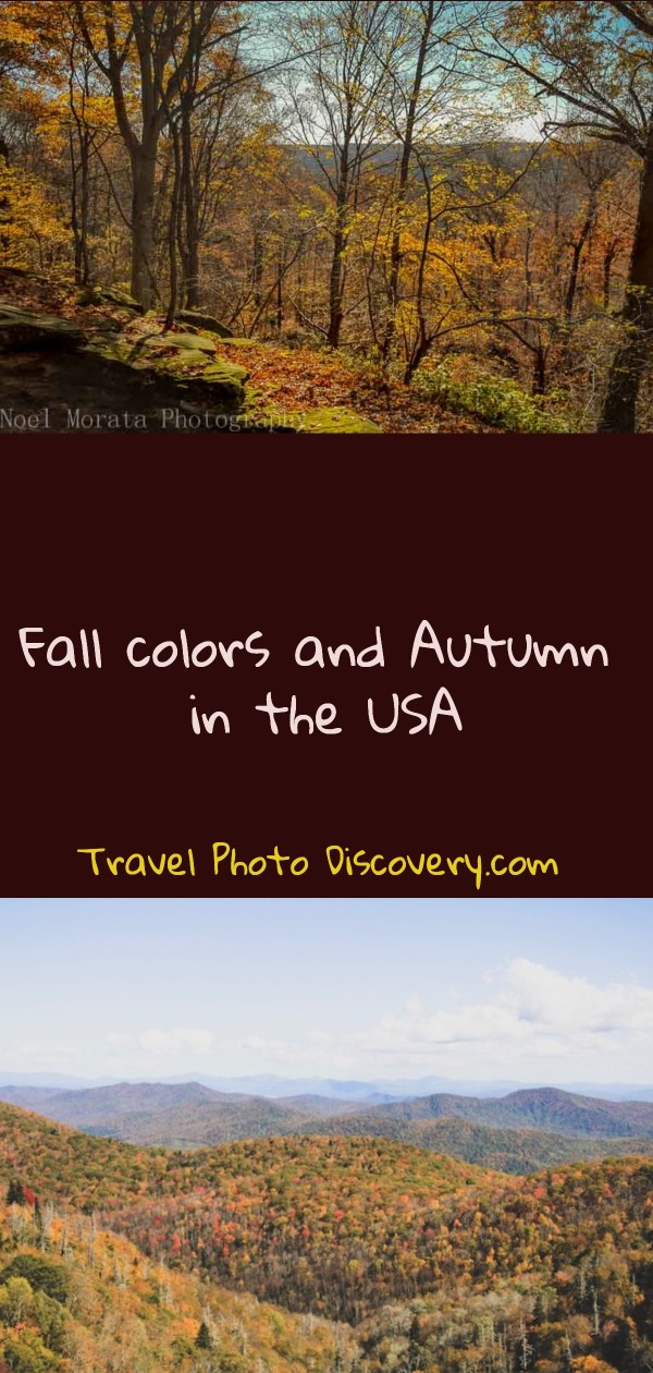 Fall colors and autumn in the USA
