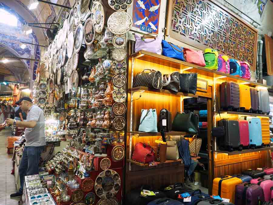 Istanbul Grand Bazaar sensational things to do in Turkey