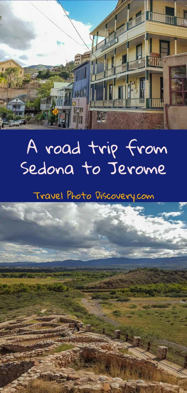 a road trip from sedona to jerome AZ