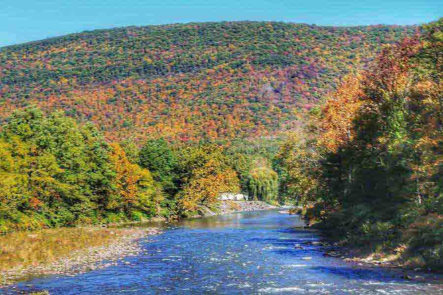 fall color in the catskill