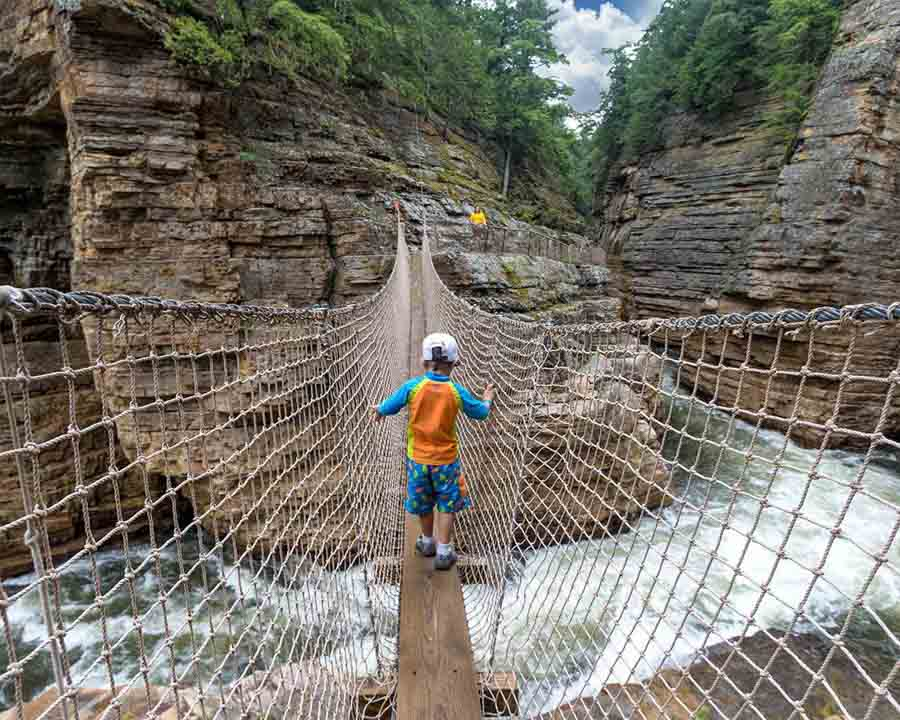 Ausable Chasm Adventure Center
