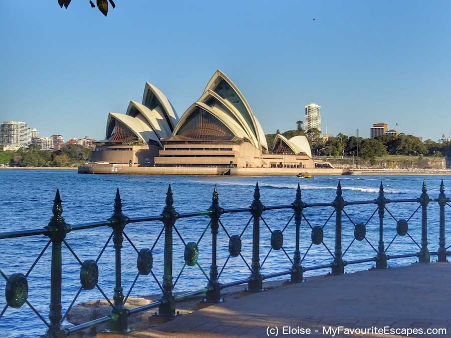 Sydney Opera House from Milsons Point top things to do in Sydney