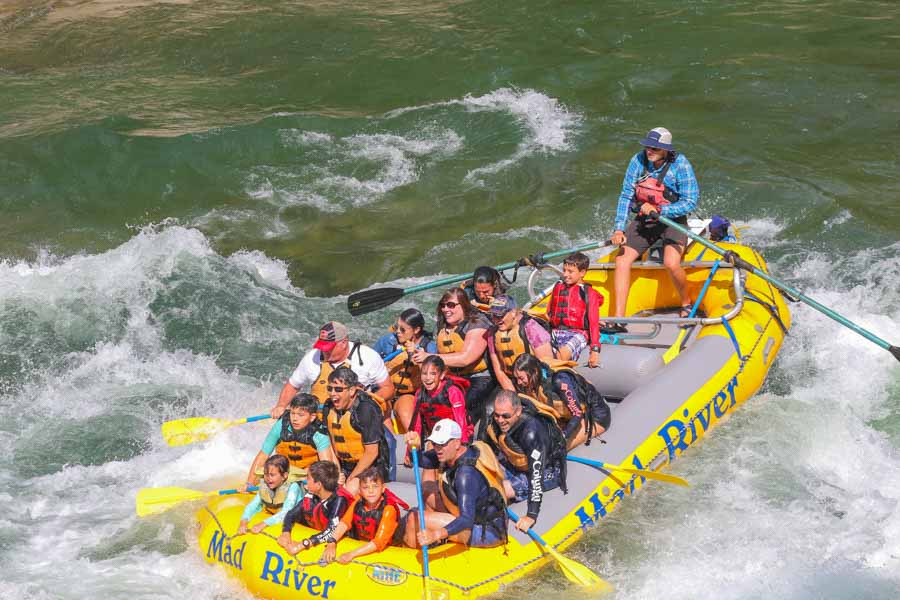White Water Rafting Snake River