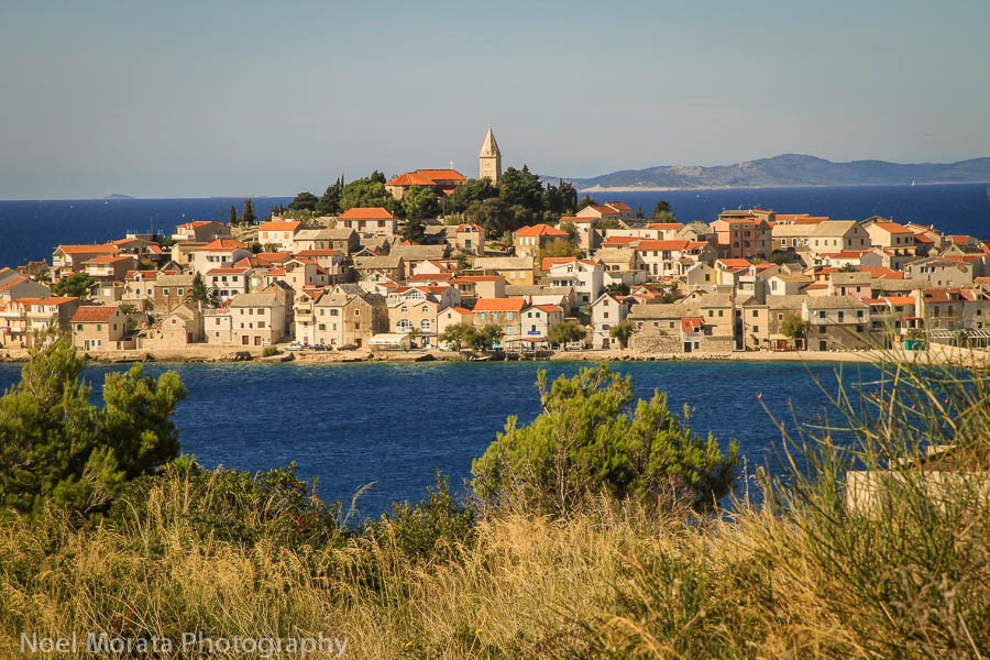Trojir driving the Dalmatian coastline